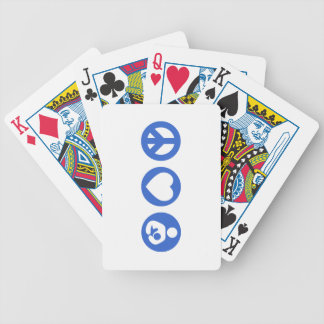 Peace Love Breastfeeding Playing Cards