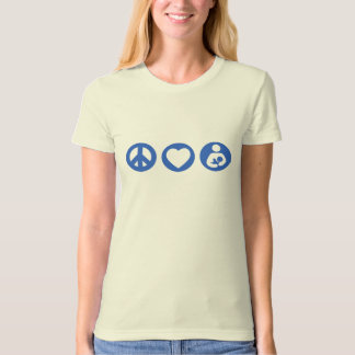 Peace Love Breastfeeding T-Shirt