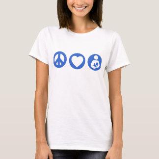 Peace Love Breastfeeding T-Shirt