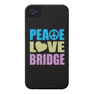 Peace Love Bridge iPhone 4 Case