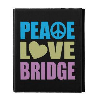 Peace Love Bridge iPad Cases