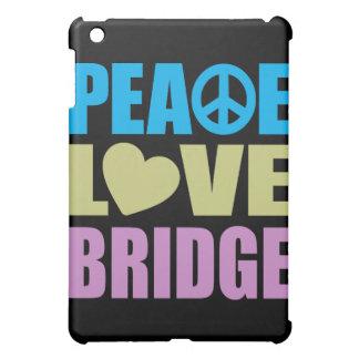Peace Love Bridge iPad Mini Cases