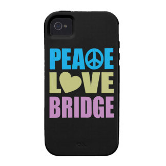 Peace Love Bridge iPhone 4/4S Covers