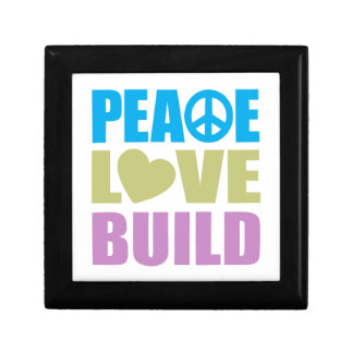 Peace Love Build Jewelry Boxes