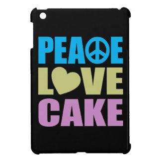 Peace Love Cake Cover For The iPad Mini