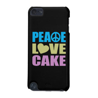 Peace Love Cake iPod Touch 5G Cover