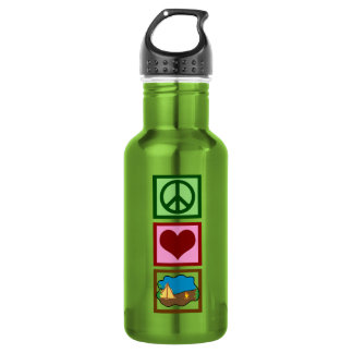 Peace Love Camping 532 Ml Water Bottle
