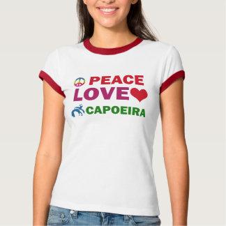 Peace Love  capoeira T-Shirt