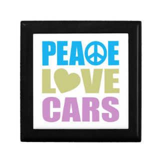 Peace Love Cars Gift Boxes