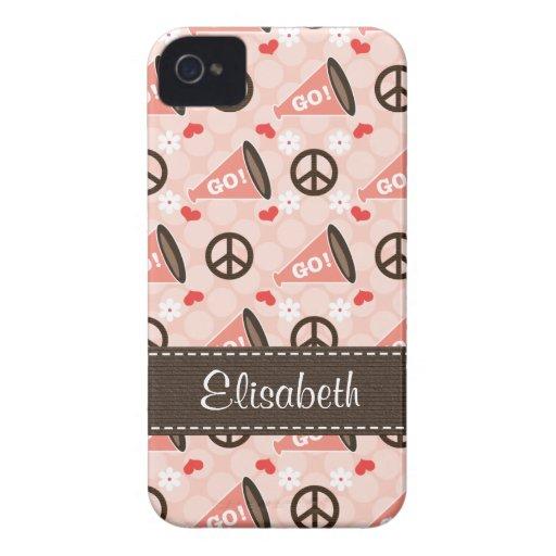 Peace Love Cheer Blackberry Bold Case