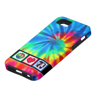 Peace, Love,  Chemistry iPhone 5 Covers