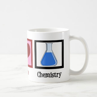 Peace Love Chemistry Coffee Mug