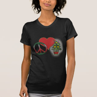 Peace Love Christmas T-Shirt