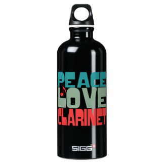 Peace Love Clarinet SIGG Traveller 0.6L Water Bottle