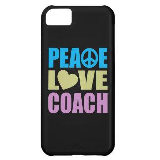 Peace Love Coach iPhone 5C Cases