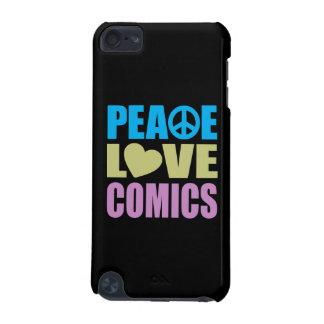 Peace Love Comics iPod Touch 5G Case