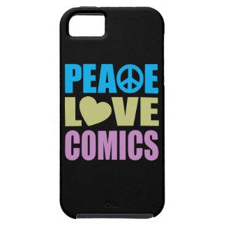 Peace Love Comics iPhone 5 Cover