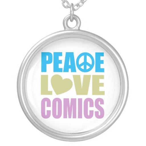 Peace Love Comics Jewelry