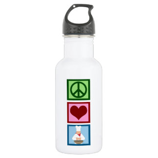 Peace Love Cook 532 Ml Water Bottle