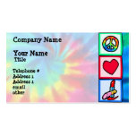 Peace, Love, Cosmetics Pack Of Standard Business Cards