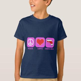 Peace Love Costa Rica T-Shirt