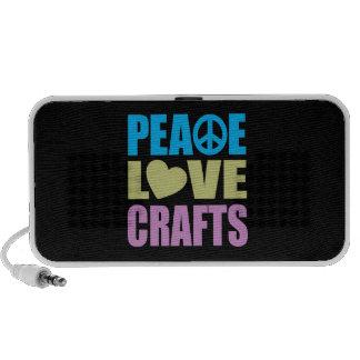 Peace Love Crafts Notebook Speakers