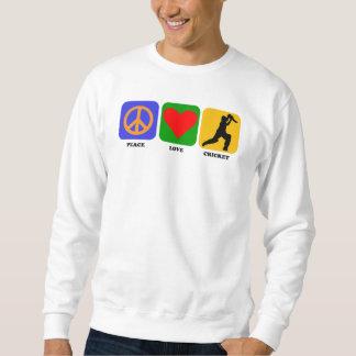 Peace Love Cricket Sweatshirt