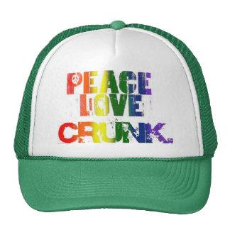 PEACE, LOVE & CRUNK CAP