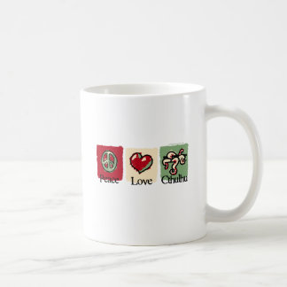 Peace. Love. Cthulhu. Coffee Mug