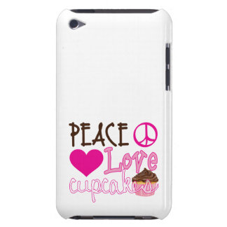 Peace, Love, Cupcakes Barely There iPod Cases