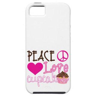 Peace, Love, Cupcakes iPhone 5 Case