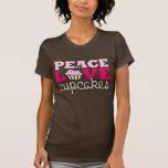 Peace, Love & Cupcakes! Tee Shirt