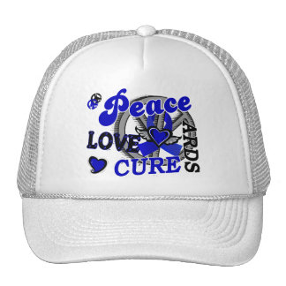 Peace Love Cure 2 ARDS Mesh Hat