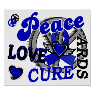 Peace Love Cure 2 ARDS Poster