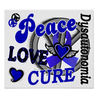 Peace Love Cure 2 Dysautonomia Poster