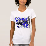 Peace Love Cure 2 Guillain Barre Syndrome T-Shirt