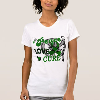 Peace Love Cure 2 Liver Cancer T-shirts