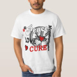 Peace Love Cure 2 Mesothelioma Shirt