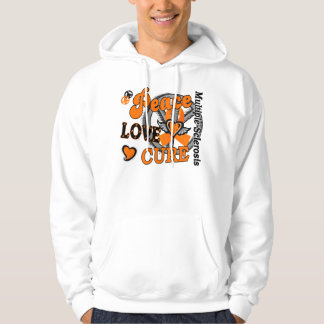 Peace Love Cure 2 Multiple Sclerosis Hoody