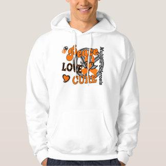Peace Love Cure 2 Multiple Sclerosis Hoody