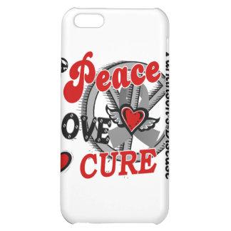 Peace Love Cure 2 Parkinson's Disease iPhone 5C Covers