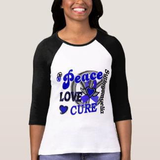 Peace Love Cure 2 Syringomyelia T-shirts