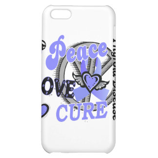 Peace Love Cure 2 Thyroid Disease Cover For iPhone 5C