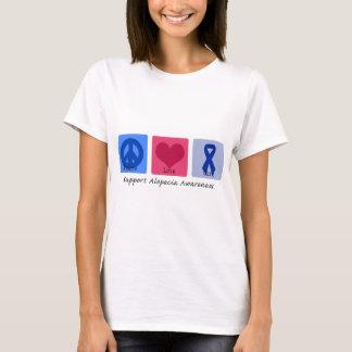 Peace Love Cure Alopecia T-Shirt