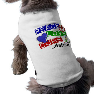 Peace Love Cure Autism Shirt