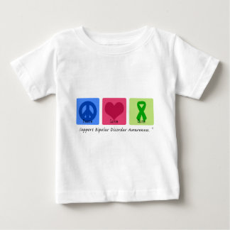 Peace Love Cure Bipolar Disorder T Shirt