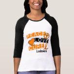 Peace Love Cure Leukaemia Tshirt
