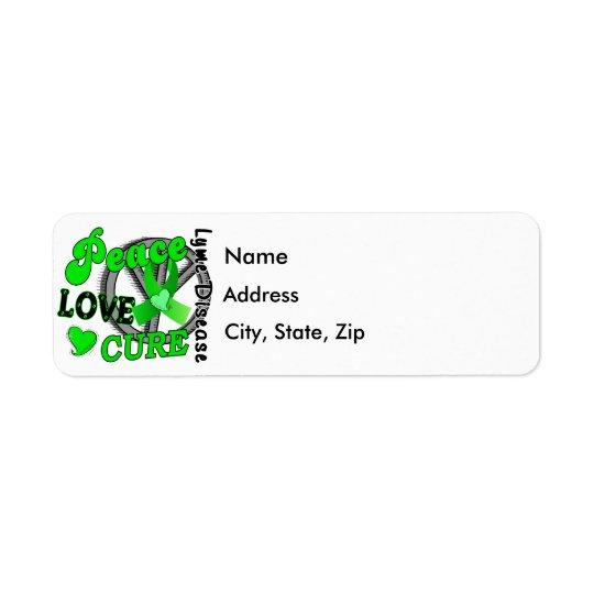 Peace Love Cure Lyme Disease 2