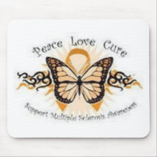 Peace Love Cure MS Mouse Pad