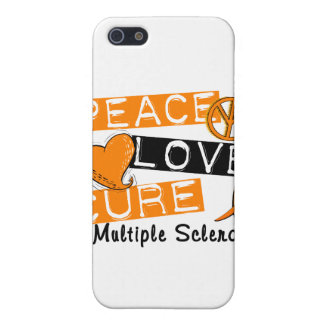 Peace Love Cure Multiple Sclerosis MS Case For iPhone 5/5S